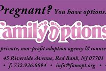 Pregnant / Are you pregnant and not sure that you are ready to be a parent?  Family Options can help!
