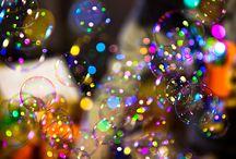 bubbles bubbly / colorful bubbles
