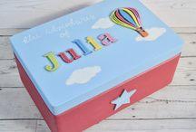 Children's Wooden Memory Box