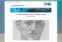 Antonio Buero Vallejo / Recopilación de recursos educativos y material informativo sobre Antonio Buero Vallejo, dirigido a docentes y alumnos de secundaria (ESO y Bachillerato)