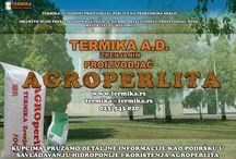 Agroperlit / Fabrički pripremljen gotov materjial za poboljšavanje karakteristika zemljišta i hidroponijsko gajenje bilja.