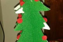 Christmas creations / Christamas handmade decorations