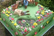 garden cakes