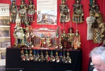 In Fiera *** Exhibitions / Foto dei miei pupi in fiera - Pictures of my Sicilian puppets during the exhibitions