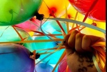 fun...up up and away... / beautiful balloons / by Debbie Young