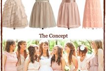 For my Bridesmaids / I am going to post inspiration that I find or cute dresses that might work for you guys on here in hopes that it helps inspire you in your dress hunt. :)