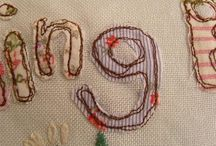 Free Motion Sewing / Beautiful free motion sewing art