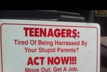 living with teenage boys