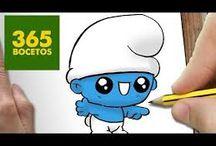 kreslení- videa