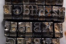 Typography / Type stories, new faces, best use