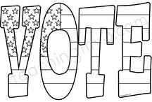 Vaalikampanjointia / Painotuotetehtävän moodboard.