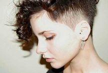 Transición pelo corto largo