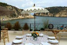 LAS MESAS DE CALA CLEMENCE / mesas de boda mesas de fiesta  www.calaclemence.com