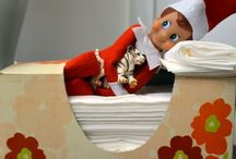 elf on a shelf / by Jana Heinbach