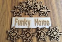 Wooden MDF Shapes and letters