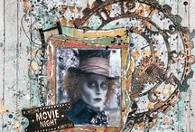 Scrapbook Layouts with Rinea