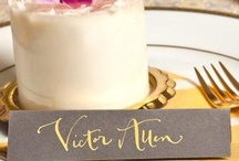Wedding Place Cards & Table Names