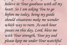 Prayers and inspiration
