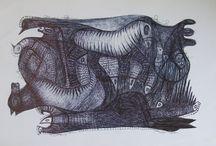 Rysunki od 2010-2 / Drawings from 2010-2 / cz.2