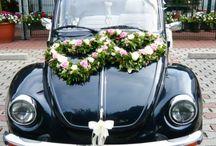 Hochzeit (Autoschmuck)