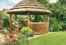 Colonial - Breeze House / Our first ever building, the grand Colonial Breeze House adds a touch of luxury to any garden with its beautifully handcrafted structure. All of our Breeze Houses can be customised to suit your needs, including a bespoke design service.