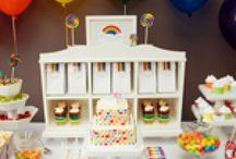Over the Rainbow / Fun, fun, fun! Enjoy these adorable and unique ideas from every color on the rainbow!