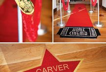 Hollywood - movie themed party
