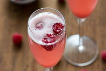 Bubbly recipes / Champagne & cocktails