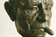 portretten / figuratieve realistische bronzen portretten