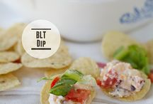Appetizers, Dips and Snacks / Appetizers, dips, party foods and snacks.