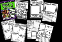 Back to School ideas / Ideas for those first few days of school whether it be the start of a new year, start of a new school year or just start of a new teaching job.