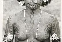 Tattoo's of Tribal Women