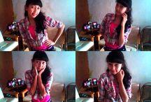 dari Webcam :) / Hhehehe :)