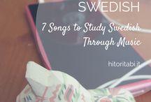 Learn/ teach Swedish