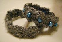 Crochet Bracelet / Bangle