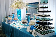 Children's Sweet Table in Tiffany Blue