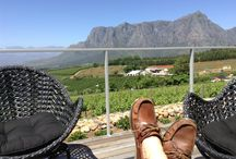 Feet with a view