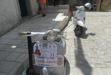 """Club in """"scooter"""" Agropoli - Felitto 2012 / Quinta edizione del Raduno di Motoveicoli di interesse storico Agropoli- Felitto con tappa a Felitto Luglio 2012"""