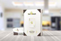 """Iber Óleum / Diseños realizados para """"Iber Óleum"""" la Guía de Aceites de Oliva Virgen Extra de España"""