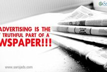 Outdoor Advertising Agencies in Hyderabad / The Advertising is the most truthful part of a newspaper.