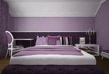 Bedroom loft design project