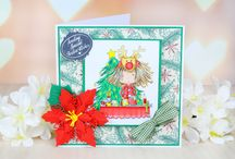 Tatty Twinkle Christmas Collection / The wonderful Tatty Twinkle Christmas. For more information please visit http://bit.ly/1QysVYS / by Tattered Lace Dies