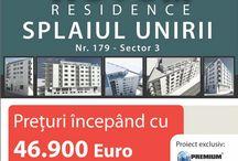 NOVUM RESIDENCE - PROIECT EXCLUSIV PREMIUM IMOBILIARE  / NOVUM RESIDENCE, un nou cartier rezidential in centrul Bucurestiului, pe Splaiul Unirii, nr. 179, sector 3. Apartamentele au TVA inclus si preturile incepand de la 46 900 Euro.   info: http://www.novumresidence.ro/  telefon: 0720 533 42
