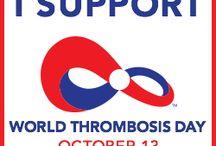 Social Media Graphics for World Thrombosis Day
