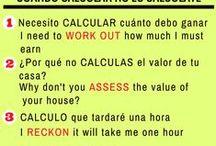 Spanish calcular