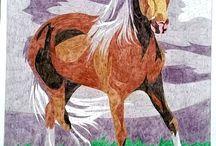 Kolorowanie według klucza animals landscapes / Kolorowanie według klucza wzoru numerów zwierzęta krajobrazy animals landscapes