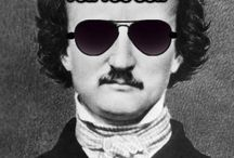 """All Poe, All The Time! / """"Of puns it has been said that those who most dislike them are those who are least able to utter them."""" - Edgar Allan Poe"""