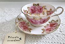 Çay fincanları