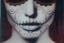 Maquillaje Día de Muertos