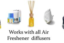 Refilling plug in air fresheners / Using plug in air fresheners to make your home smell luxurious becomes affordable and green again with Purity Home Fragrance plug in refill oils.    No need to throw endless glass refill bottles into landfill, top them up, save over 60% on cost and be greener too!